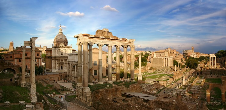 migrate to Italy , Historic Centre of Rome, Italy. Source Wikipedia