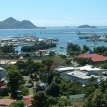 Victoria, capital of Seychelles. Photographer Benutzer