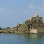 Sidon Seat Castle, Lebanon. Photographer https://commons.wikimedia.org/wiki/File:SidonSeaCastle.jpg#/media/File:SidonSeaCastle.jpg