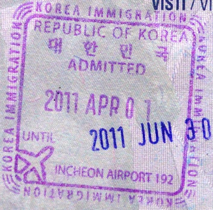 Work Visa for South Korea