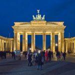 Berlin Brandenburger Tor Abend, German Tourist Visa