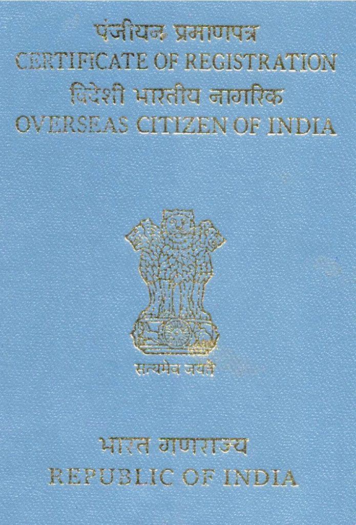 OCI Card For Infants, Reissuing Of OCI Card, OCI card, OCI card holders